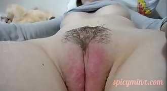 Cutie Plays with her Pussy - www.spicyminx.com