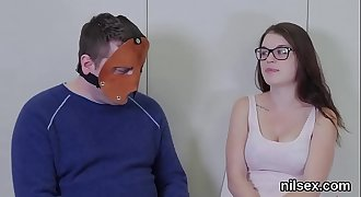 Kinky chick was taken in ass hole asylum for painful treatment