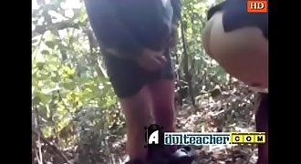 Jungle mai manga aur hindi mai aaah chuda ka maja  - full video at aulteacher.com
