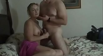 Wife sharon forces cuckold husband to witness her and bull