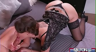 Housewife in stockings squirting(Caroline Ardolino) 02 video-18