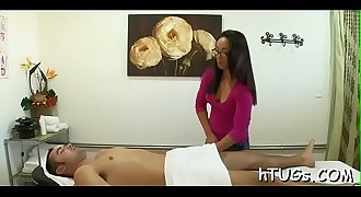 Masseuses love suspended clients