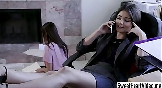Hot Shyla seduce her stepsister Adria - SweetHeartVideo.me