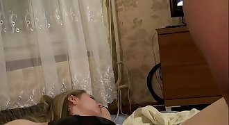 Homemade going knuckle deep russian wife